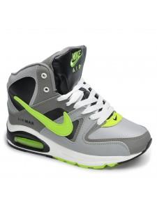 Зимние высокие кроссовки для бега Nike Air Max 90 Skyline артикул NKZSKL002