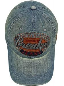 Джинсовая кепка Breaker артикул JNS0002