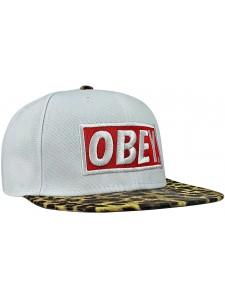 Кепка с прямым козырьком OBEY артикул OBY0005