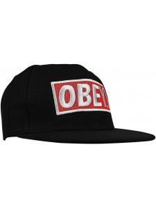 Кепка с прямым козырьком OBEY артикул OBY0009