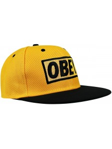 Кепка с прямым козырьком OBEY артикул OBY0008