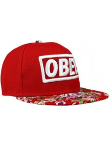 Кепка с прямым козырьком OBEY артикул OBY0001