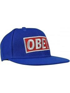 Кепка с прямым козырьком OBEY артикул OBY0004