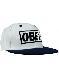 Кепка с прямым козырьком OBEY артикул OBY0003