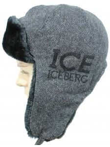 Шапка ушанка Iceberg артикул USHICE001