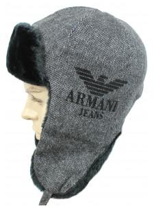 Шапка ушанка Armani артикул USHARM001