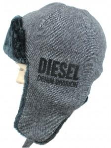 Шапка ушанка Diesel артикул USHDSL001