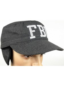 Зимняя бейсболка FBI артикул ZB001-FBIGRW