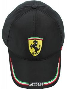Зимняя бейсболка Ferrari артикул ZBFER001