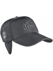 Зимняя бейсболка Jeep артикул ZBJP001