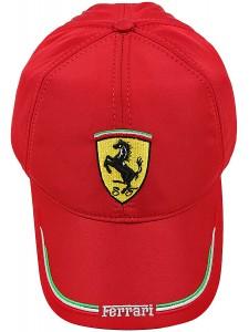 Зимняя бейсболка Ferrari артикул ZBFER002