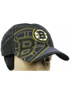 Зимняя бейсболка Boston Bruins артикул ZBBSTNBR001