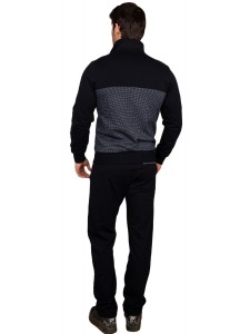 Мужской спортивный костюм Armani из трикотажа артикул MTBARM001