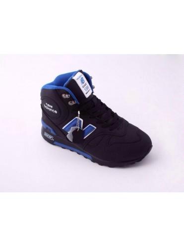 Зимние высокие кроссовки New Balance артикул NBZ0003
