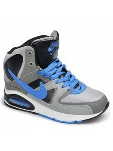 Зимние высокие кроссовки для бега Nike Air Max 90 Skyline артикул NKZSKL001