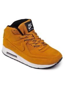 Зимние высокие кроссовки для бега Nike Air Max 90 VT артикул NKZ90VT005