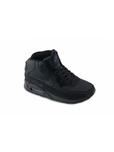 Зимние высокие кроссовки для бега Nike Air Max 90 артикул NKZ90010