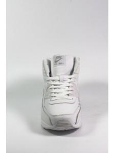Зимние высокие кроссовки для бега Nike Air Max 90 артикул NKZ90020