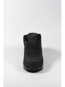 Зимние высокие кроссовки для бега Nike Air Max 90 артикул NKZ90019