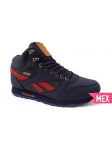 Зимние высокие кроссовки для бега Reebok Classic артикул RBKZ009