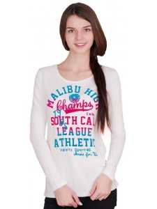 Женская футболка с длинным рукавом Fierce артикул FWMFU001