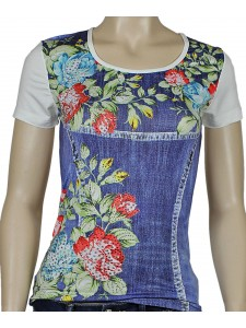 Женская футболка Miss psssy артикул 2461