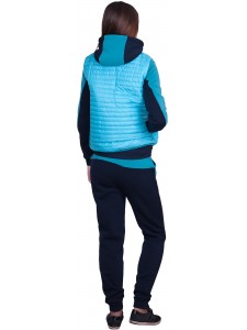 Женский утепленный спортивный костюм тройка Nike артикул WUFNK002