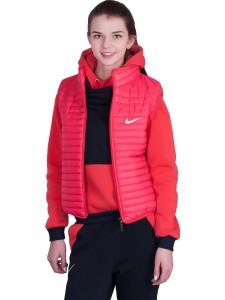 Женский утепленный спортивный костюм тройка Nike артикул WUFNK003