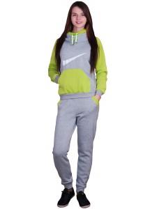 Женский утепленный спортивный костюм тройка Nike артикул WUFNK005
