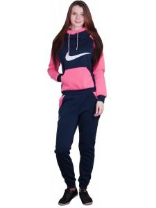 Женский утепленный спортивный костюм тройка Nike артикул WUFNK004