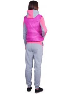 Женский утепленный спортивный костюм тройка Nike артикул WUFNK001