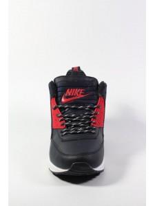 Зимние высокие кроссовки для бега Nike Air Max 90 Sneakerboot артикул NK90SNB003