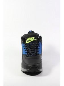Зимние высокие кроссовки для бега Nike Air Max 90 Sneakerboot артикул NK90SNB002