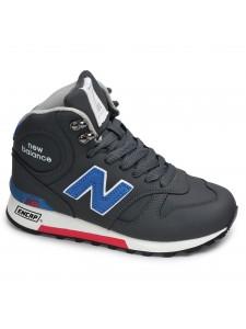 Зимние высокие кроссовки New Balance артикул NBZ0002